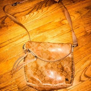 💞 The Sak! 💞 handbag! Crossbody! Brown leather!